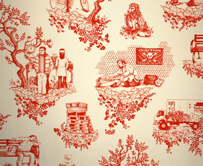 Chaintown-toile-flavorpaper